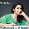 Sidra Iqbal Became The Winner Of GR8 Women Award 2014