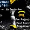 Hurray.pk Futsal Tournament '14 [08 Sept]