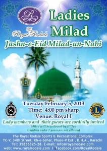 LADIES MILAD