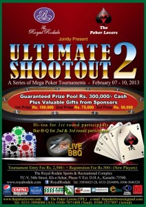 """Ultimate Shootout 2"" A Series of Mega Poker Tournaments"