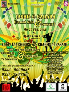 Jashn-e-Bhaara (Basant Mela & Concert) [24th Feb]