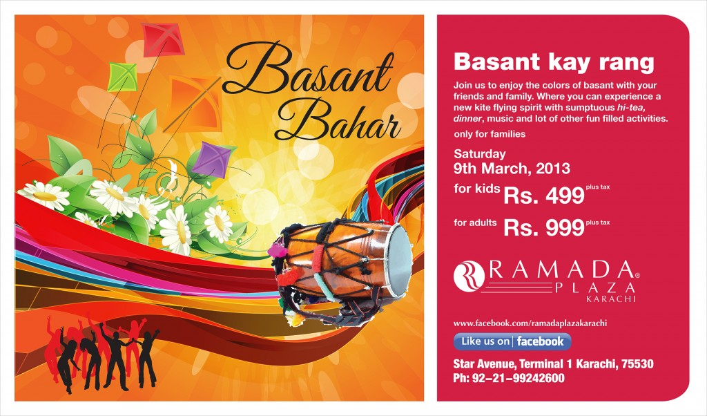 basant bahar [events in karachi]
