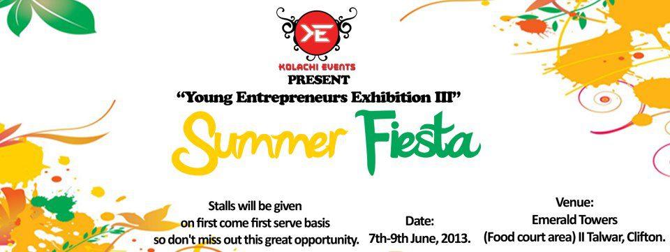 Young Entrepreneurs Exhibition III (Summer Fiesta)