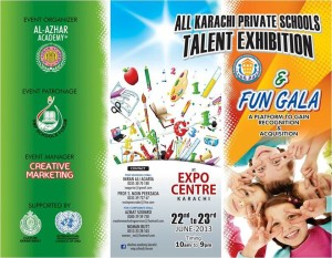 All Karachi Private Schools Talent Exhibition & Fun Gala