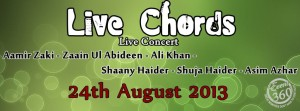 LIVE CHORDS 2013