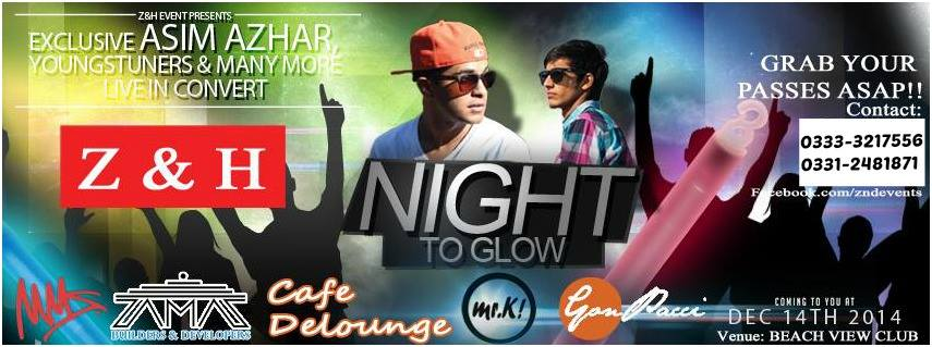'Glow The Night' with Asim Azhar