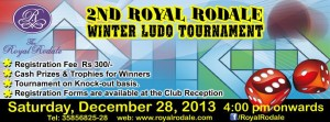 2ND ROYAL RODALE WINTER LUDO TOURNAMENT