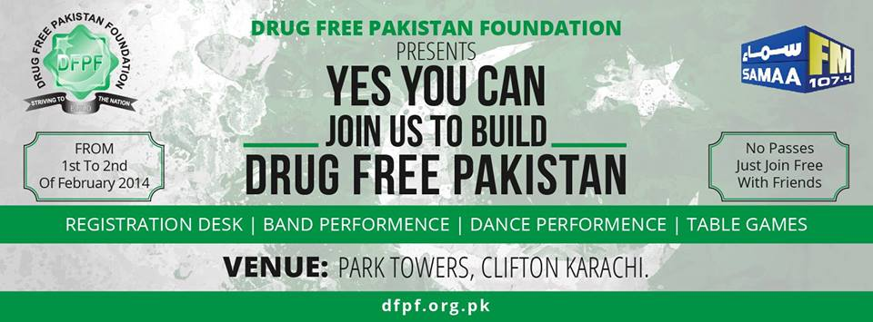 Yes You Can.. Join Us To Build Drug Free Pakistan!!
