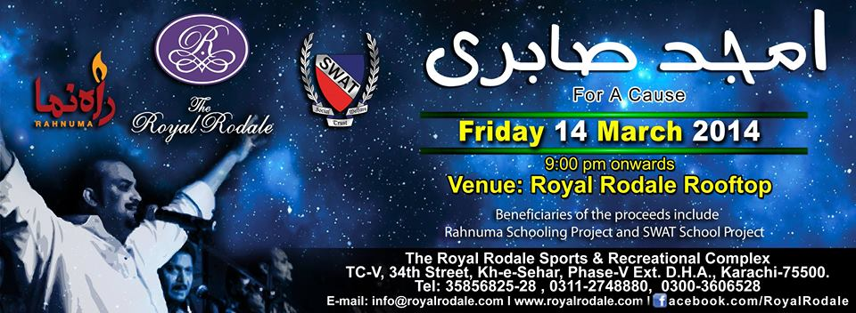 Amjad Sabri @ Royal Rodale For A Cause