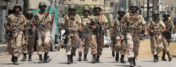rangers operation karachi