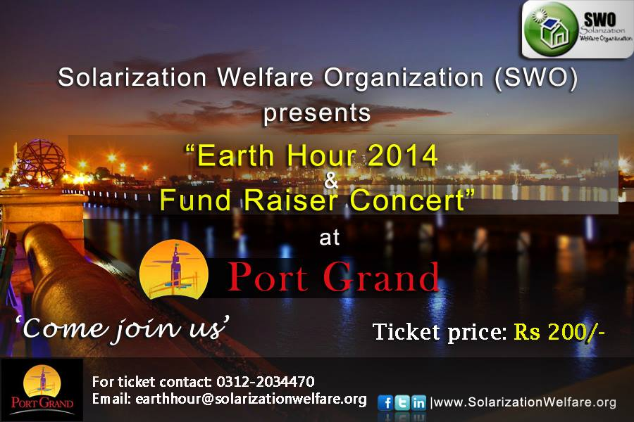 Earth Hour 2014 & Fund Raiser Concert [ SWO ]