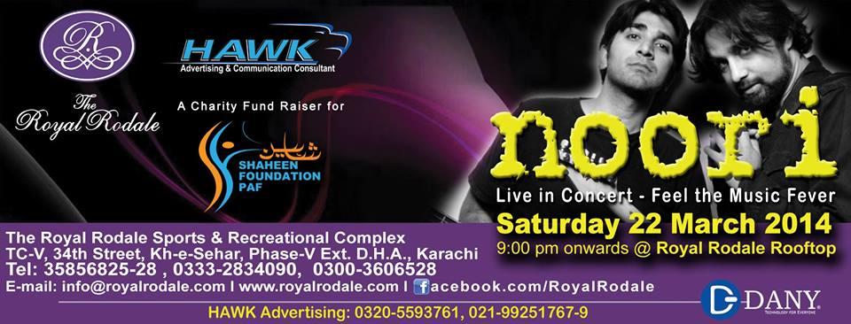 Noori Live @ Royal rodale