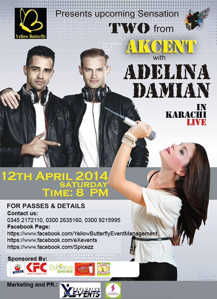 TWO from AKCENT - Live in Concert !! [12th April]