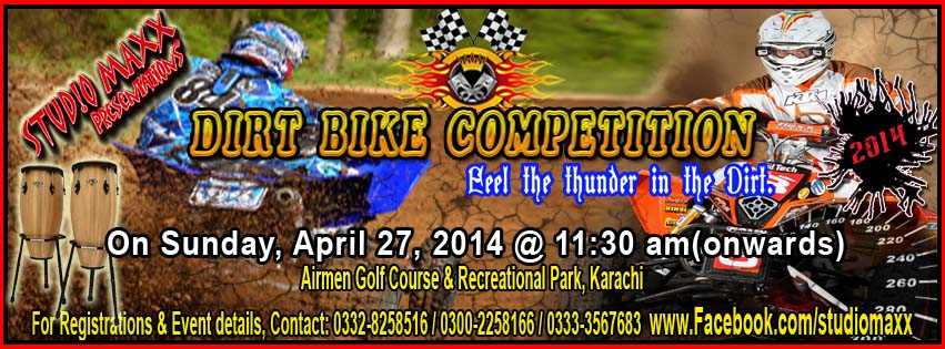DIRT BIKE COMPETITION
