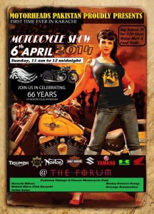 Motor Bike Show @ The Forum Mall 6th April 201