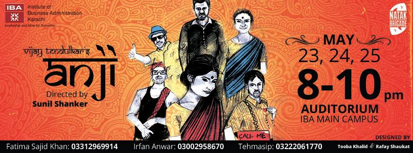 """ANJI""-The IBA Annual Play"